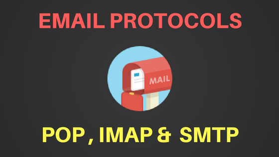 POP3 IMAP SMTP Port numbers