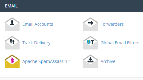 cPanel email address