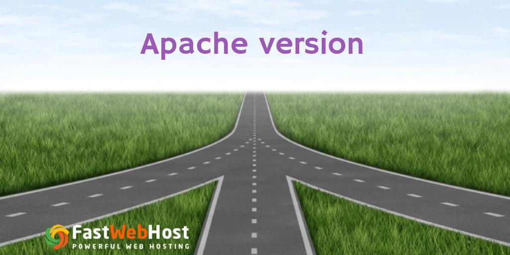 Apache Version check