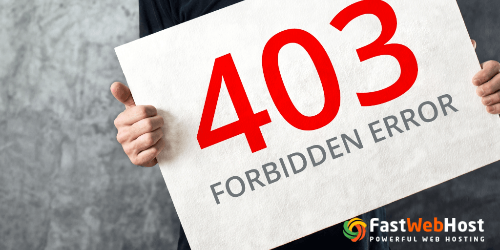 Different Ways to Fix 403 Forbidden Error