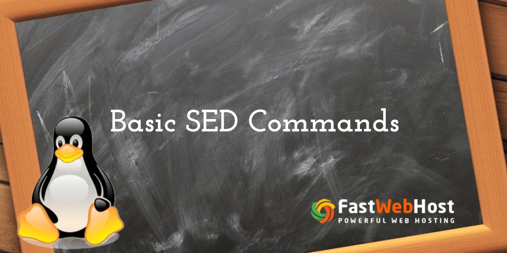 Basic SED commands in UNIX