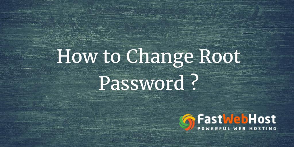 Change root linux password crack