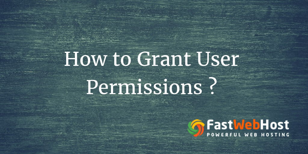 how to create a mysql user and grant permissions