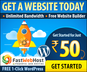 Web Hosting India 50% OFF