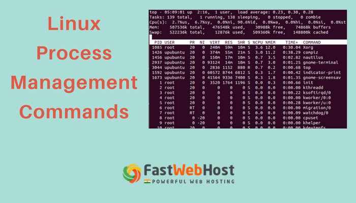 Linux Process Management Commands