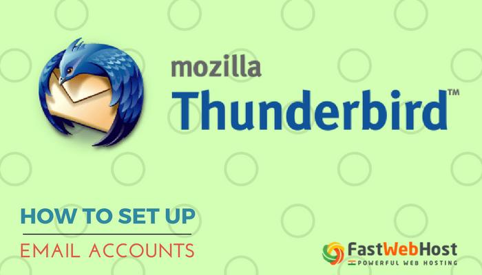 Mozilla Thunderbird Email