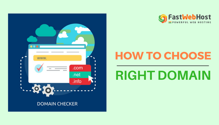 Choose right domain name