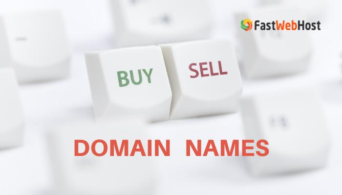 buying selling domain names